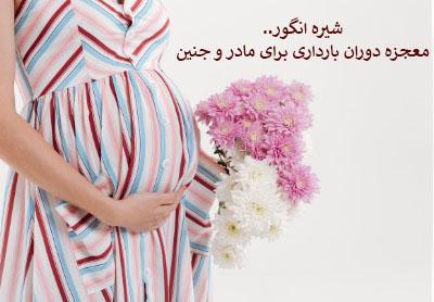 شیره انگور، معجزه دوران بارداری برای مادر و جنین