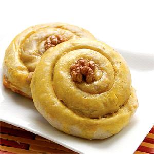 طرز تهیه نان ارده و گردو